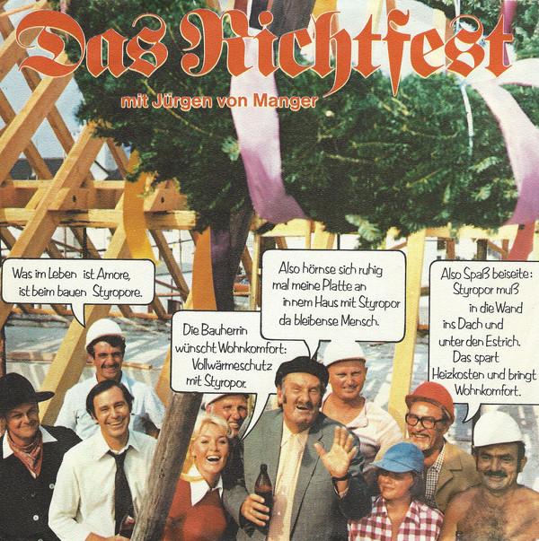 Bild Jürgen von Manger - Das Richtfest (7) Schallplatten Ankauf