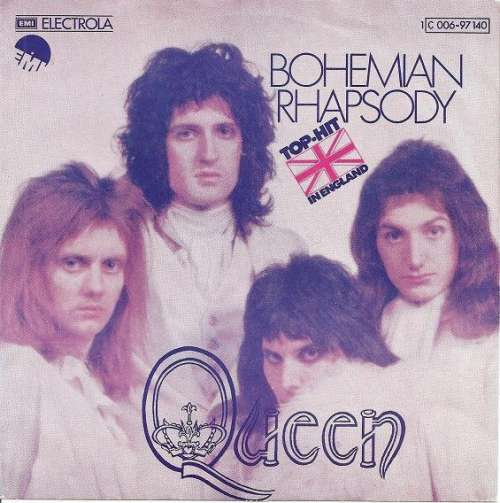 Cover zu Queen - Bohemian Rhapsody (7, Single) Schallplatten Ankauf