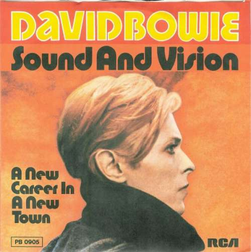 Cover David Bowie - Sound And Vision (7, Single) Schallplatten Ankauf
