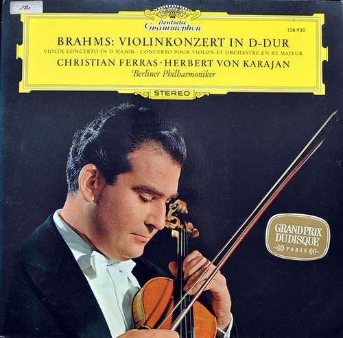 Bild Brahms* - Christian Ferras, Berliner Philharmoniker, Herbert Von Karajan - Brahms: Violinkonzert In D-Dur (LP, Album) Schallplatten Ankauf