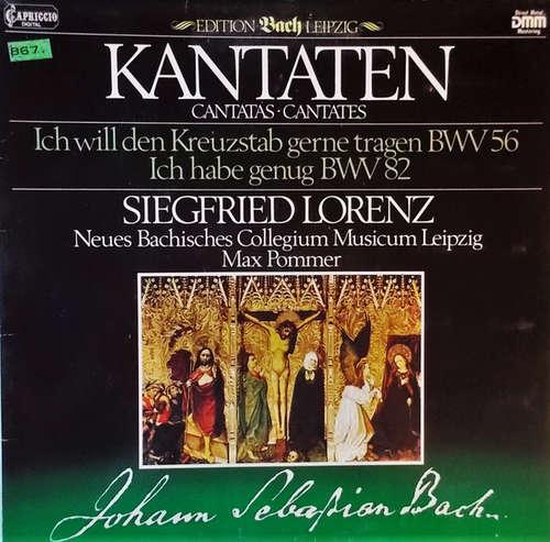 Bild Siegfried Lorenz, Neues Bachisches Collegium Musicum Leipzig ; Max Pommer / Johann Sebastian Bach - Kantaten (Cantatas ∙ Cantates) (LP, Club, S/Edition, Gat) Schallplatten Ankauf