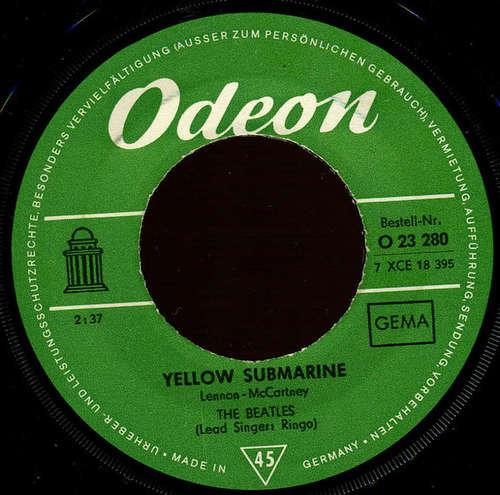 Cover The Beatles - Yellow Submarine / Eleanor Rigby (7, Single, RP) Schallplatten Ankauf
