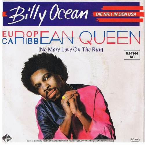 Cover Billy Ocean - European Queen (No More Love On The Run) (7, Single) Schallplatten Ankauf