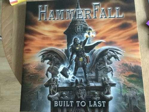 Bild HammerFall - Built To Last (LP, Album, Ltd, Red) Schallplatten Ankauf