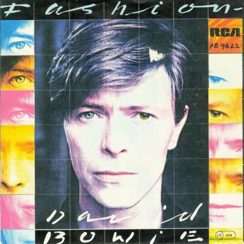 Cover David Bowie - Fashion (7, Single) Schallplatten Ankauf