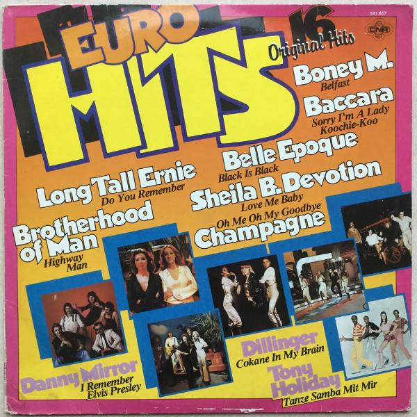 Bild Various - Euro Hits (LP, Comp) Schallplatten Ankauf