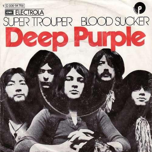 Bild Deep Purple - Super Trouper / Blood Sucker (7, Single) Schallplatten Ankauf