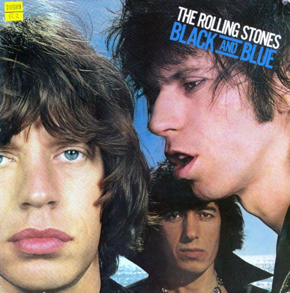 Cover The Rolling Stones - Black And Blue (LP, Album, Gat) Schallplatten Ankauf