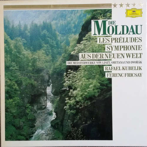 Bild Antonín Dvořák, Bedřich Smetana, Franz Liszt - Die Moldau Les Préludes Symphonie Aus Der Neuen Welt (2xLP) Schallplatten Ankauf
