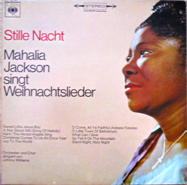 Cover Mahalia Jackson - Stille Nacht - Mahalia Jackson Singt Weihnachtslieder (LP, Album) Schallplatten Ankauf