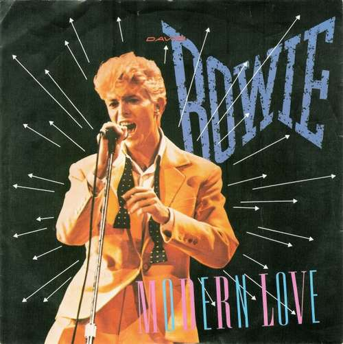 Cover David Bowie - Modern Love (7, Single) Schallplatten Ankauf
