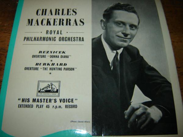 Bild Sir Charles Mackerras - Reznicek - Donna Diana (7, EP, Mono) Schallplatten Ankauf