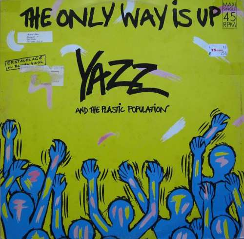 Cover Yazz And The Plastic Population - The Only Way Is Up (12, Maxi, Blu) Schallplatten Ankauf