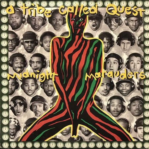 Cover A Tribe Called Quest - Midnight Marauders (LP, Album, Gre) Schallplatten Ankauf