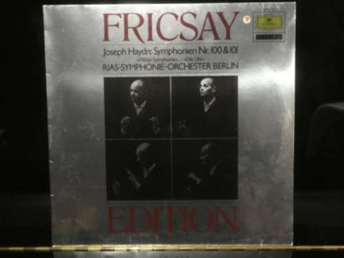 Bild Joseph Haydn, RIAS Symphonie-Orchester Berlin, Fricsay* - Symphonien Nr. 100 & 101 (LP) Schallplatten Ankauf