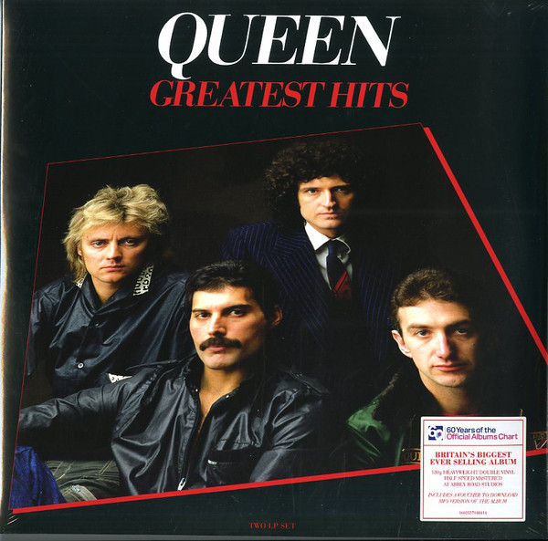 Cover Queen - Greatest Hits (2xLP, Comp, RE, RM) Schallplatten Ankauf