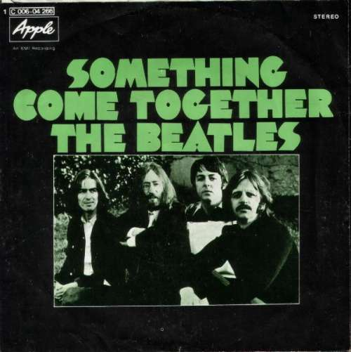 Cover The Beatles - Something / Come Together (7, Single) Schallplatten Ankauf
