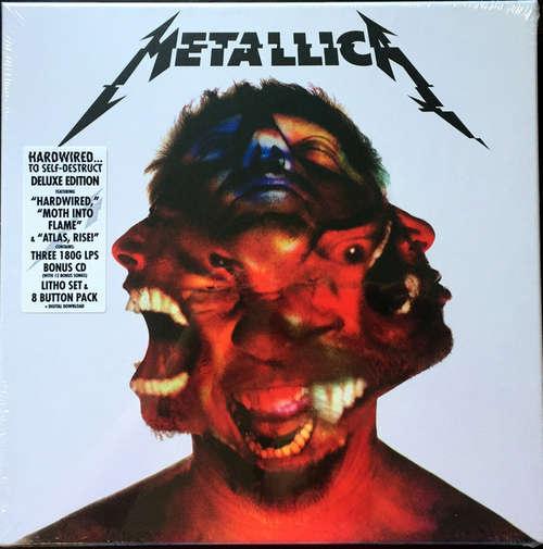 Bild Metallica - Hardwired...To Self-Destruct (LP, Blu + LP, Yel + Album + 12, Red + CD + Box, D) Schallplatten Ankauf