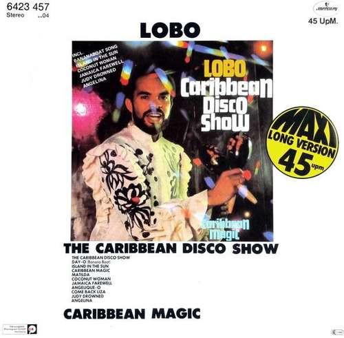 Cover Lobo - The Caribbean Disco Show (12, Maxi) Schallplatten Ankauf