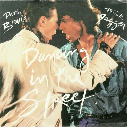 Cover David Bowie And Mick Jagger - Dancing In The Street (7, Single) Schallplatten Ankauf