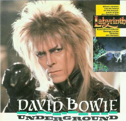 Cover David Bowie - Underground (7, Single) Schallplatten Ankauf