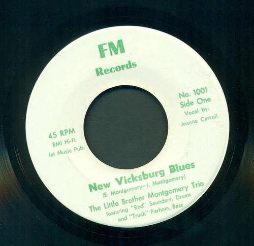 Bild The Little Brother Montgomery Trio - New Vicksburg Blues / Oh Daddy (7, Single) Schallplatten Ankauf
