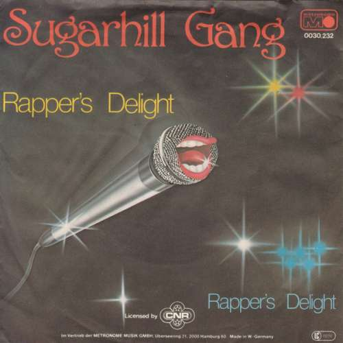Cover Sugarhill Gang - Rapper's Delight (7, Single) Schallplatten Ankauf