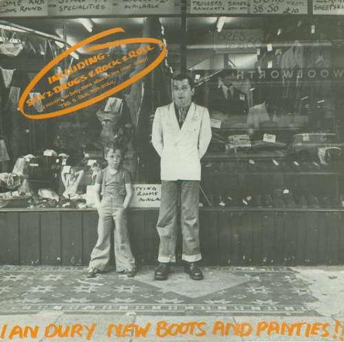 Cover Ian Dury - New Boots And Panties!! (LP, Album, RE) Schallplatten Ankauf