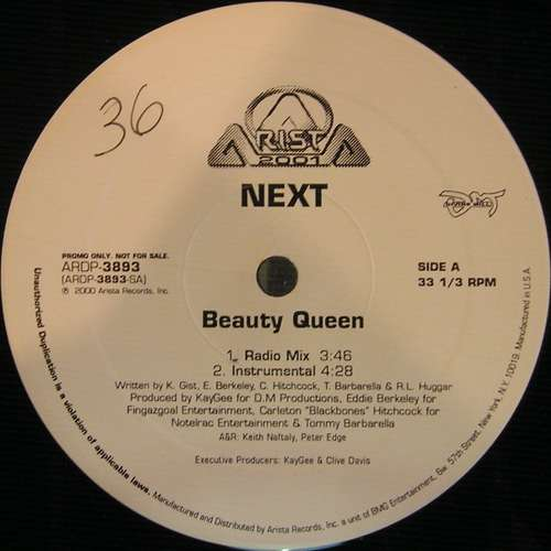 Cover Next (2) - Beauty Queen (12, Promo) Schallplatten Ankauf