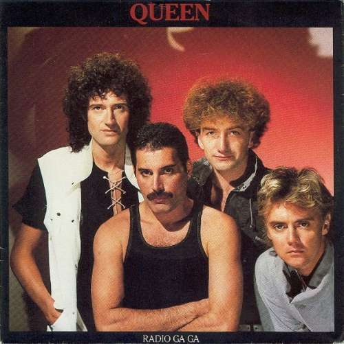 Cover Queen - Radio Ga Ga (7, Single) Schallplatten Ankauf
