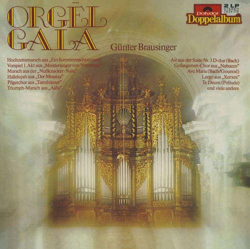 Cover zu Günther Brausinger - Orgel Gala (2xLP) Schallplatten Ankauf