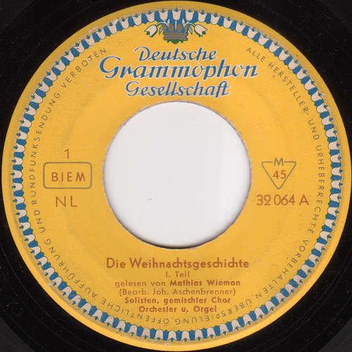 Bild Mathias Wieman - Die Weihnachtsgeschichte (7, Mono) Schallplatten Ankauf
