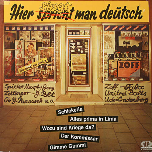 Cover Various - Hier Spricht (Singt) Man Deutsch (LP, Comp) Schallplatten Ankauf
