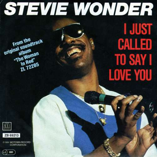 Bild Stevie Wonder - I Just Called To Say I Love You (7, Single) Schallplatten Ankauf