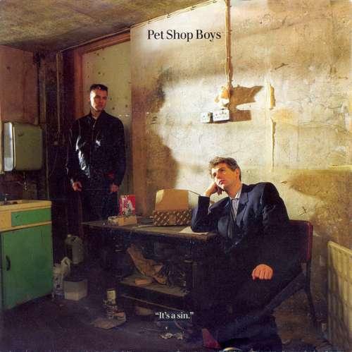 Cover Pet Shop Boys - It's A Sin (7, Single) Schallplatten Ankauf