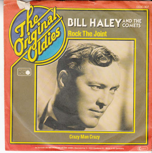 Bild Bill Haley And The Comets* - Rock The Joint (7, Single) Schallplatten Ankauf