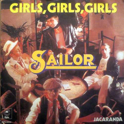 Bild Sailor - Girls, Girls, Girls (7, Single, Ora) Schallplatten Ankauf