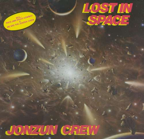 Cover Jonzun Crew* - Lost In Space (LP, Album) Schallplatten Ankauf