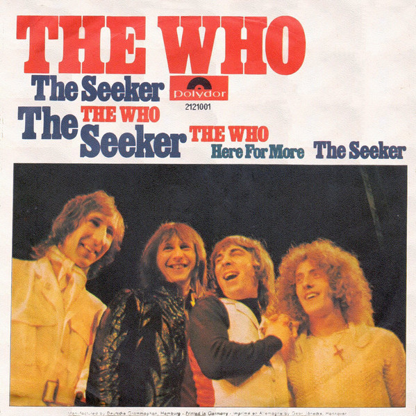 Bild The Who - The Seeker (7, Single) Schallplatten Ankauf