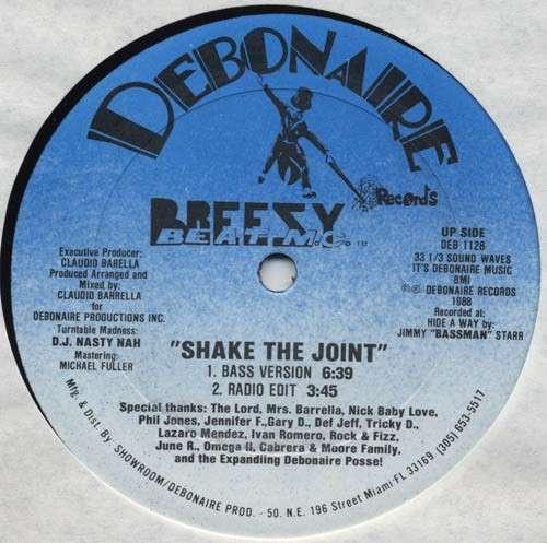 Cover Shake The Joint Schallplatten Ankauf