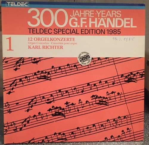 Bild G. F. Händel*, Karl Richter - 12 Orgelkonzerte (2xLP, RE, DMM) Schallplatten Ankauf