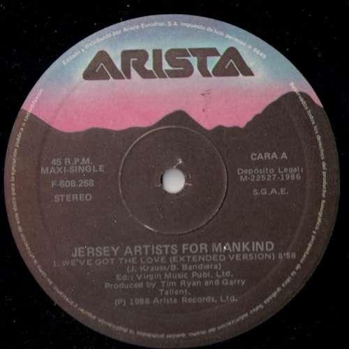 Cover zu Jersey Artists For Mankind - We've Got The Love (12, Maxi) Schallplatten Ankauf