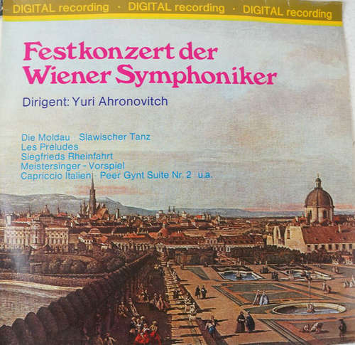Bild Wiener Symphoniker Dirigent: Yuri Ahronovitch - Festkonzert der Wiener Symphoniker (2xLP, Club) Schallplatten Ankauf