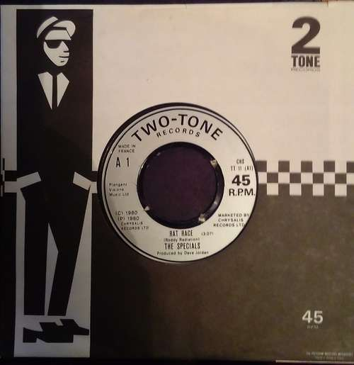 Cover The Specials - Rat Race (7, Single, Fre) Schallplatten Ankauf