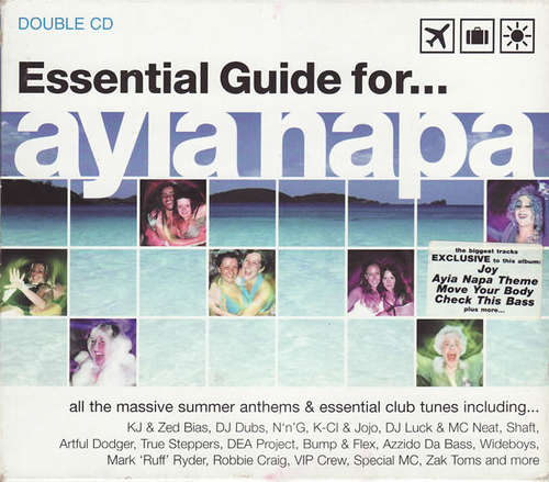 Cover Various - Essential Guide For... Ayia Napa (CD, Comp + CD, Mixed) Schallplatten Ankauf