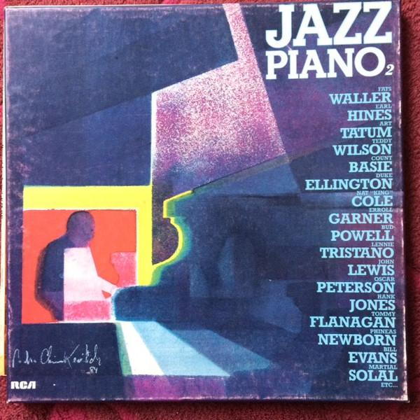 Cover Various - Jazz piano 2 (3xLP, Comp + Box, Comp) Schallplatten Ankauf