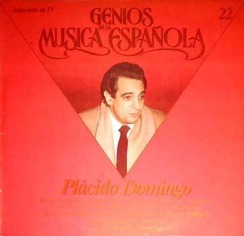 Bild Placido Domingo - Genios De La Música Española, Vol. 22 (LP, Album, RE) Schallplatten Ankauf