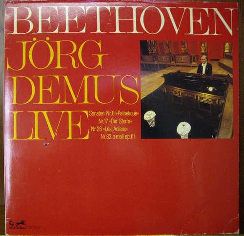 Bild Beethoven*, Jörg Demus - Jörg Demus Live (2xLP) Schallplatten Ankauf