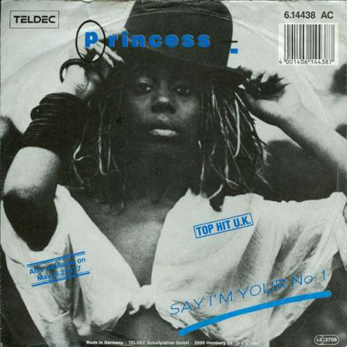 Cover Princess - Say I'm Your No. 1 (7, Single) Schallplatten Ankauf