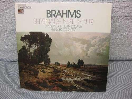 Cover Brahms*, Dresdner Philharmonie, Heinz Bongartz - Serenade Nr. 1 D-dur Op. 11 (LP, Album) Schallplatten Ankauf